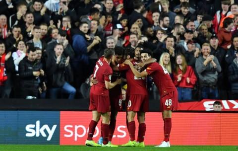 Bungkam MK Dons, Liverpool Melaju ke Babak 16 Besar