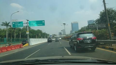 Tol Dalam Kota Sudah Berfungsi Normal