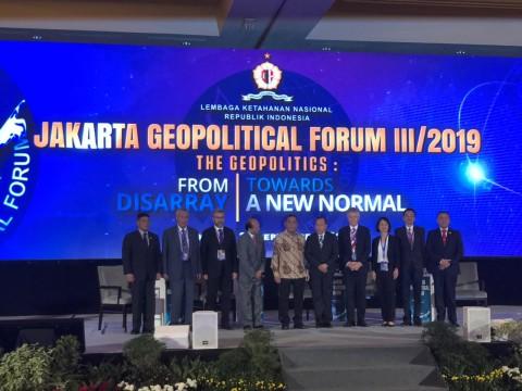 Lemhanas Holds Jakarta Geopolitical Forum 2019