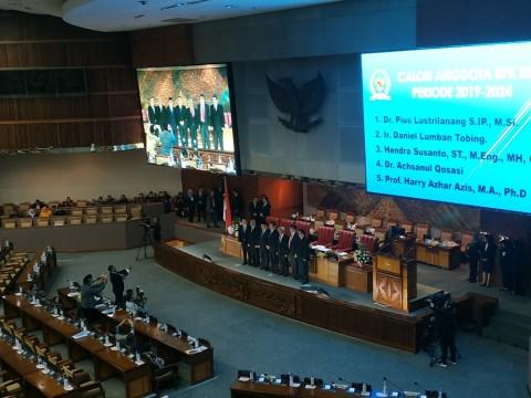 DPR Setujui Anggota BPK Periode 2019-2024