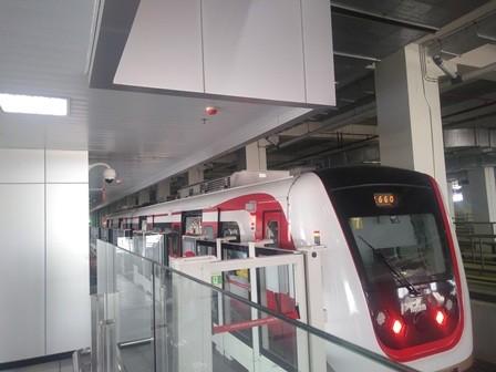 Stasiun LRT Pegangsaan Dua Segera Beroperasi
