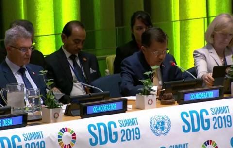 Kalla Chairs SDGs Summit in New York