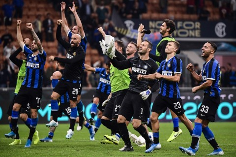 Bekap Lazio, Conte Sanjung Handanovic