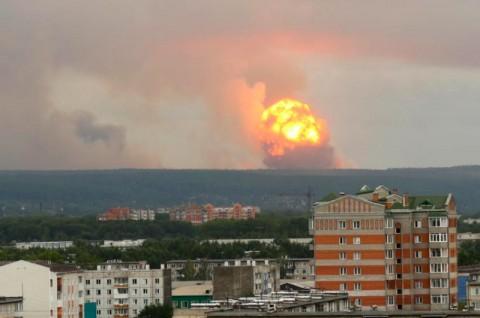 Lokasi Kecelakaan Nuklir di Rusia Dibersihkan dari Radiasi
