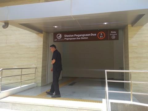 Apartemen Bakal Dibangun di Stasiun LRT Pegangsaan Dua