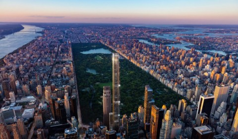 Menara Central Park, Gedung Hunian Tertinggi di Dunia