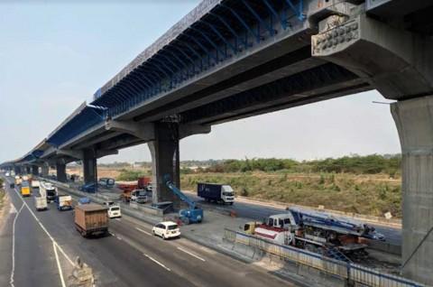 Tol Jakarta-Cikampek Elevated II Pangkas Waktu Tempuh Jakarta-Bandung