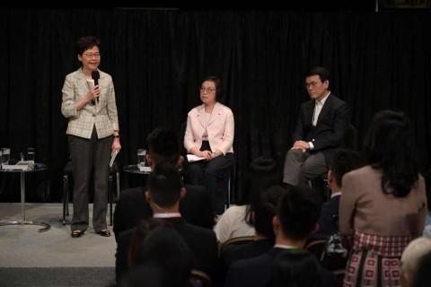 Pemimpin Hong Kong Temui Pedemo Pro-Demokrasi