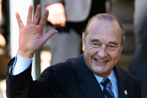 Mantan Presiden Prancis Jacques Chirac Wafat