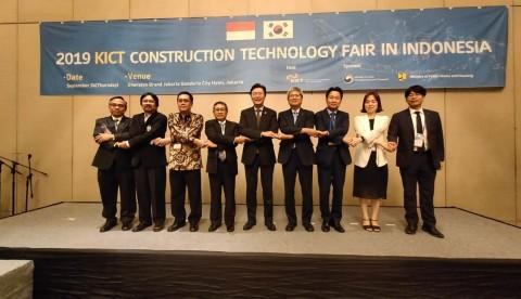 Indonesia-Korea <i>Sharing</i> Teknologi Konstruksi