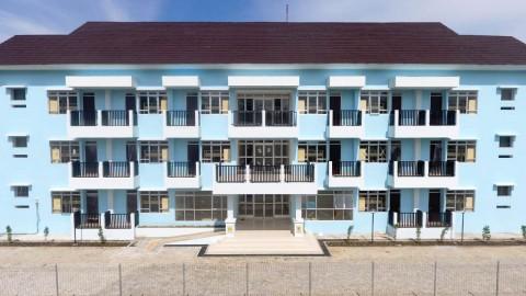 Rusunawa Sekolah Guru di Papua Barat Rampung Dibangun