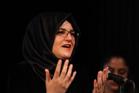 Tunangan Khashoggi Bersuara di AS, Tuntut Saudi Dihukum