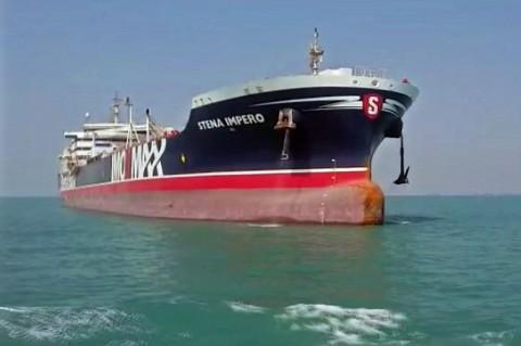 Kapal Tanker Inggris yang Disita Iran Bersiap Berlayar