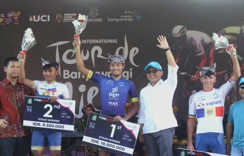 Pebalap Indonesia Aiman Cahyadi Tercepat di Etape Kedua ITdBI