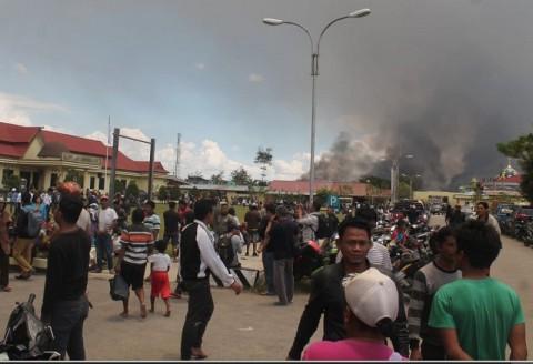 Ribuan Pengungsi Kerusuhan Wamena Butuh Bantuan