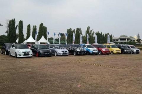 Puluhan Komunitas Mobil Meriahkan Jambore Suzuki Club