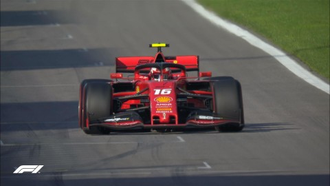 Leclerc Rebut Pole Position F1 Rusia