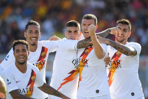 AS Roma Susah Payah Tundukkan Lecce