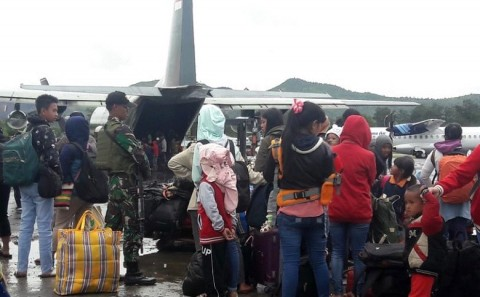 Rioters in Wamena are not Locals: Police
