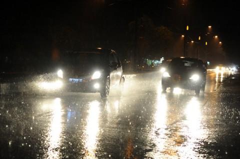 Hujan Lebat di Palangka Raya Mengurangi Kabut Asap