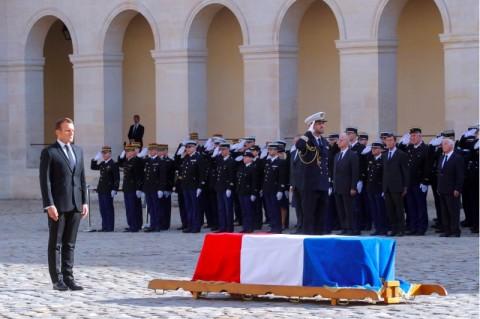Pemimpin Dunia Beri Penghormatan Terakhir untuk Jacques Chirac