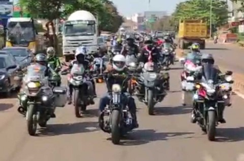 Touring Moge Jakarta-Laos untuk Promosi Budaya Indonesia