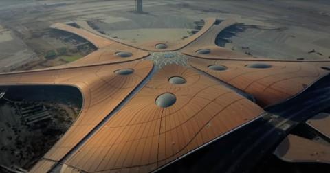Tiongkok Punya Terminal Bandara Terbesar di Dunia