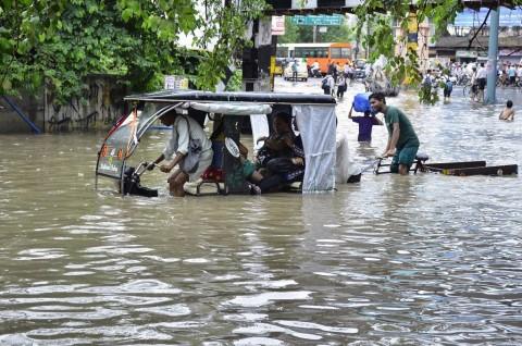 Banjir akibat Hujan Deras di India Tewaskan 148 Orang