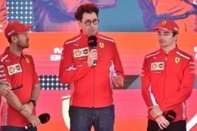 Bos Ferrari Angkat Bicara Soal Friksi Vettel dan Leclerc