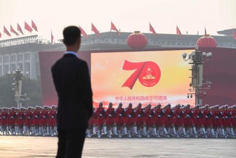 Tiongkok Rayakan 70 Tahun Berkuasa Partai Komunis