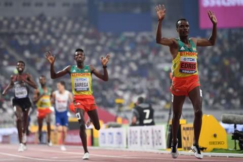Muktar Edris Belum Terbendung di Kejuaraan Dunia Atletik 2019