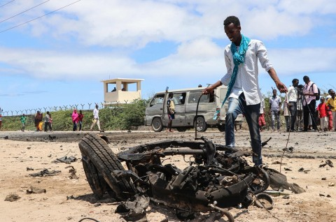 Al-Shabaab Klaim Bunuh Puluhan Prajurit di Markas AS