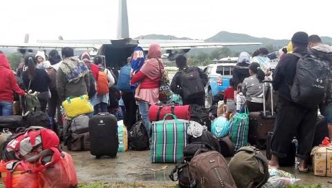 159 Warga NTB di Papua Menunggu Dievakuasi