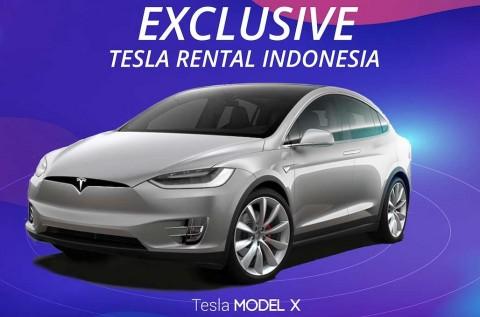 Setelah Taksi, Tesla Model X Kini jadi Mobil Rental