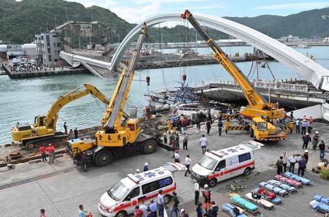 Tiga ABK WNI Jadi Korban Jembatan Runtuh di Taiwan