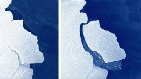 Gunung Es Sebesar Tiga Kali Luas Jakarta Tenggelam