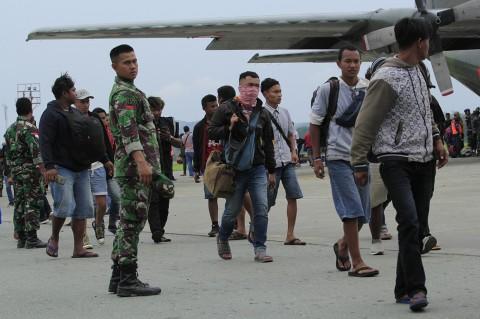 Ribuan Warga Wamena Mengungsi ke Jayapura