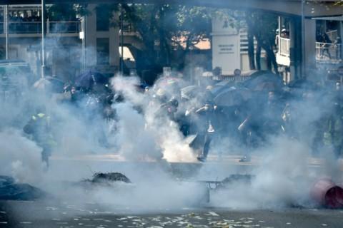 Hari Berduka, Protes Hong Kong di Perayaan Nasional Tiongkok