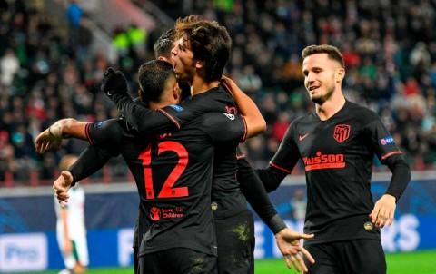 Bungkam Lokomotiv, Atletico Tempel Juventus di Klasemen Grup D