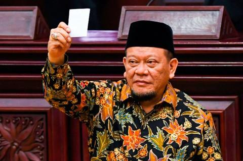 La Nyalla Jadi Ketua DPD Periode 2019-2024