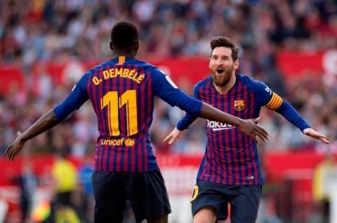 Valverde Enggan Paksakan Messi dan Dembele Main Kontra Inter