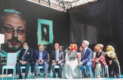 Tunangan Pimpin Peringatan Satu Tahun Pembunuhan Khashoggi