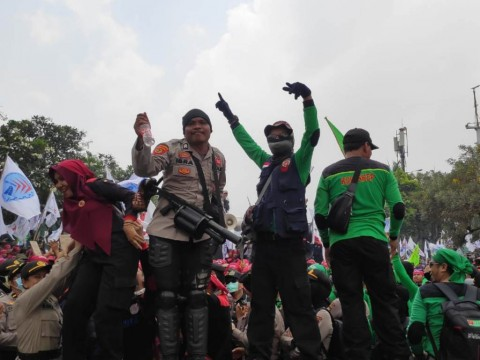 Demo Damai Buruh Diapresiasi