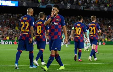 Dua Gol Suarez Buat Inter Bertekuk Lutut di Camp Nou