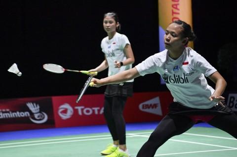 Ganda Putri Pastikan Satu Tiket Perempat Final Indonesia Masters