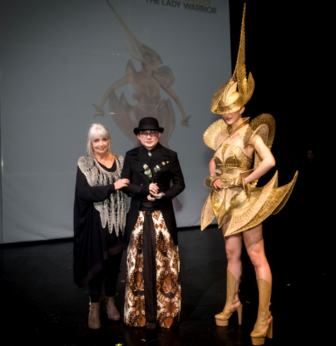 The Lady Warrior Karya Rinaldy Yunardi Raih Penghargaan WOW Awards