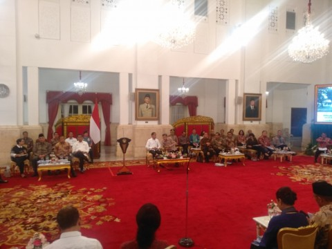 Jokowi Expresses Gratitude to Cabinet Members