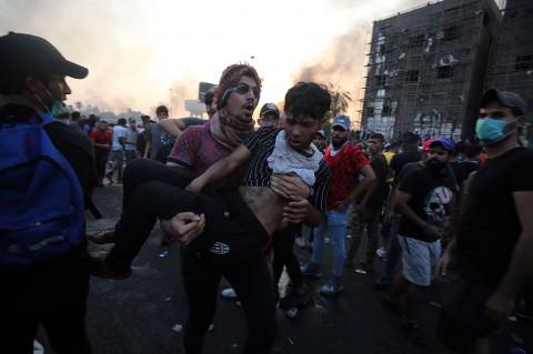 Belasan Orang Tewas dalam Demo Antipemerintah di Irak