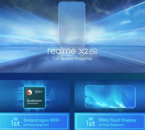 Smartphone High-End Pertama realme, Pakai Snapdragon 855 Plus