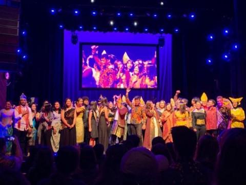 Mahasiswa Indonesia di AS Kukuhkan Persatuan Lewat Teater